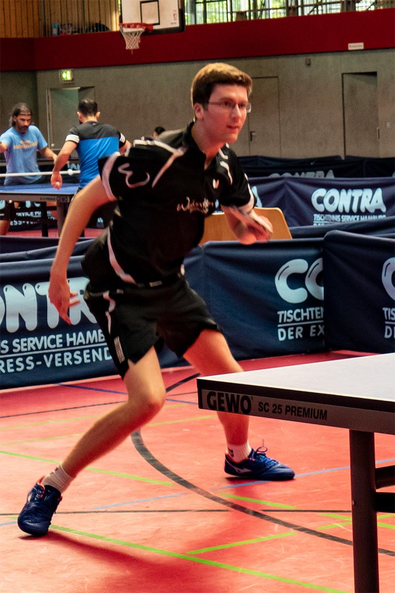 Verbandsendrangliste: Jan-Ole Penderak als Sieger-Besieger muss mit dem 7. Platz Vorlieb nehmen